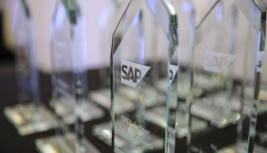 SAP Partner Excellence Award 2016